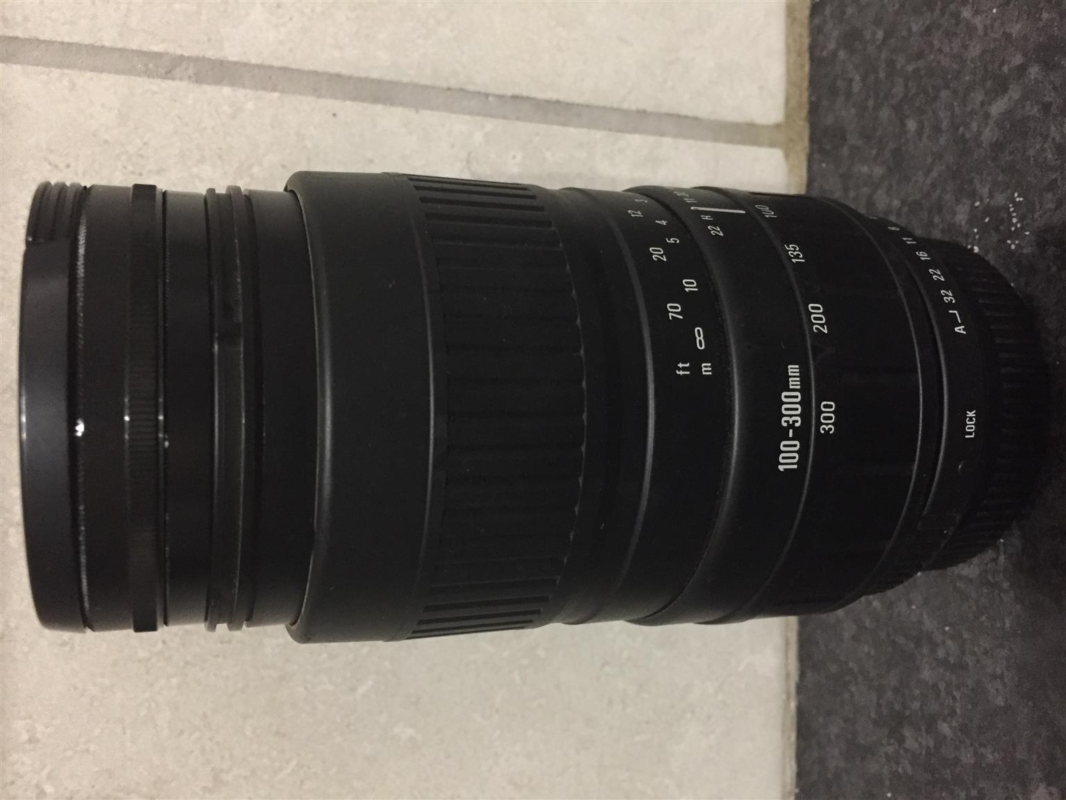 Sigma Zoom 100-300 mm