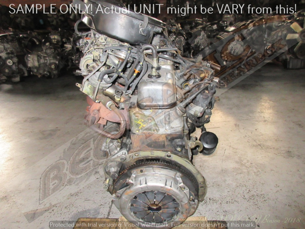 TOYOTA HILUX -7K 1.8 CARB Engine