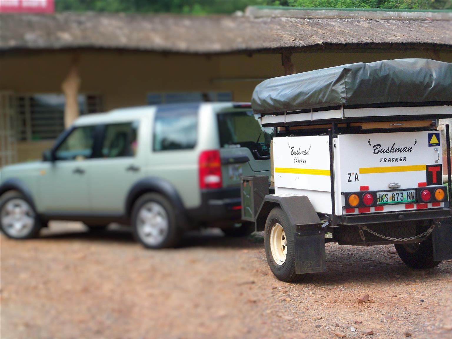 Bushman Tracker off-road trailer