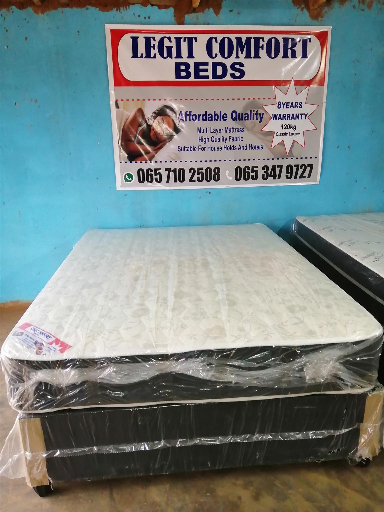 Legit Comfort Beds affordable quality brand new beds. Cash on delivery no money upfront
