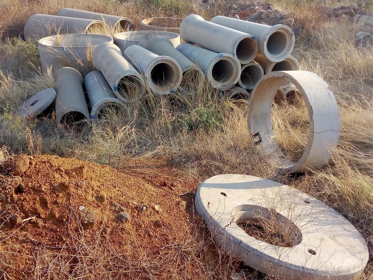 STORM WATER PIPES - NEW