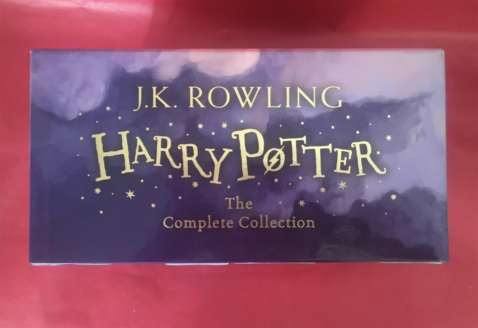 Harry Potter complete collection (books)