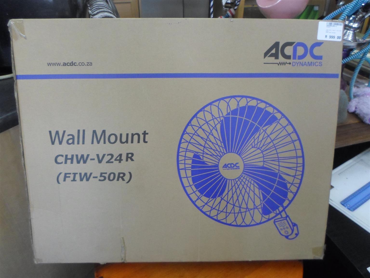ACDC Wall Mount CHW V24R Fan
