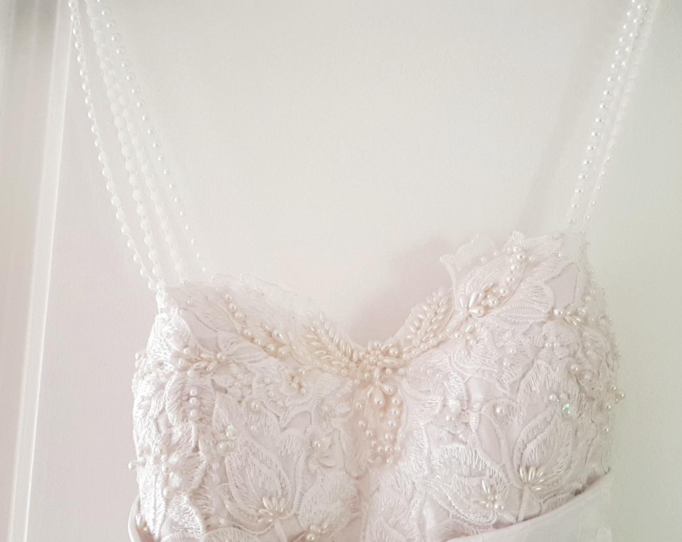 Lovely White Wedding Dress