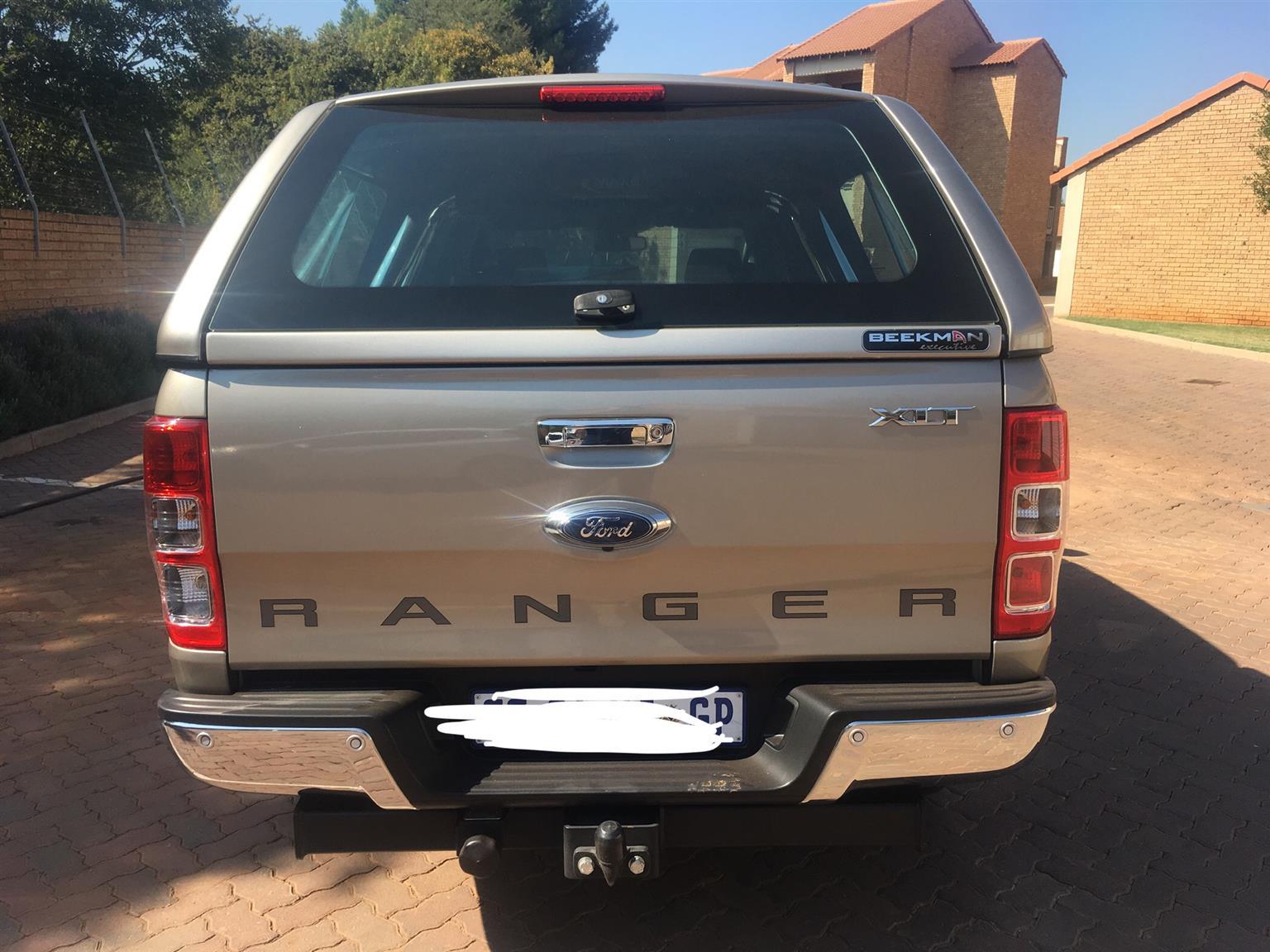 2016 Ford Ranger double cab RANGER 3.2TDCi XLT P/U D/C