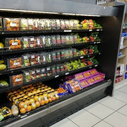 Fruit and Vegetable refrigerator display unit