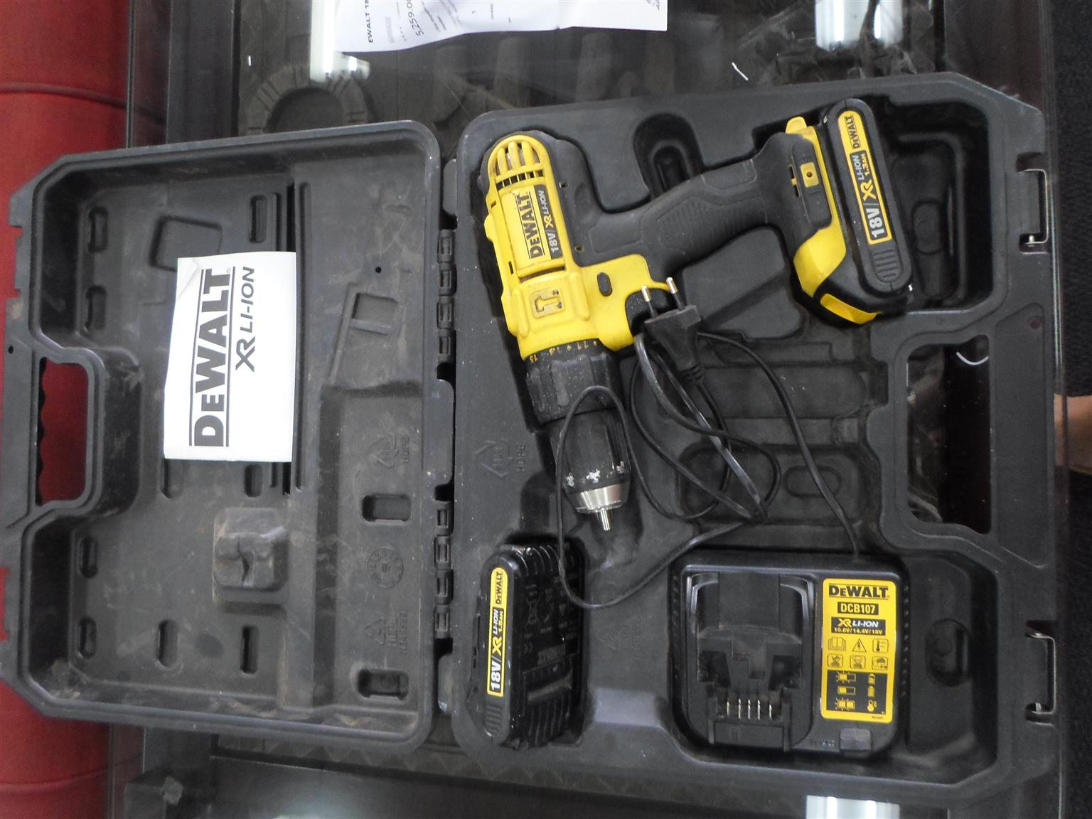 18V DeWalt Cordless Drill