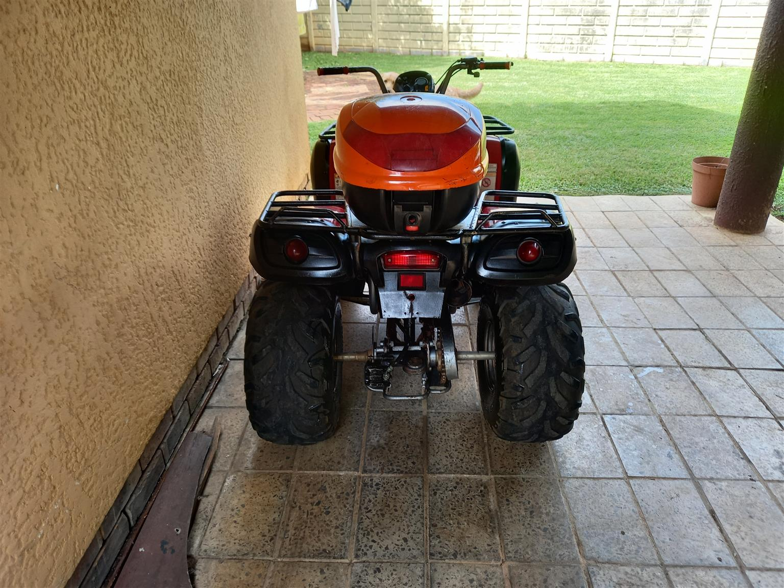 Aeon 180 Overlander,Automatic with reverse