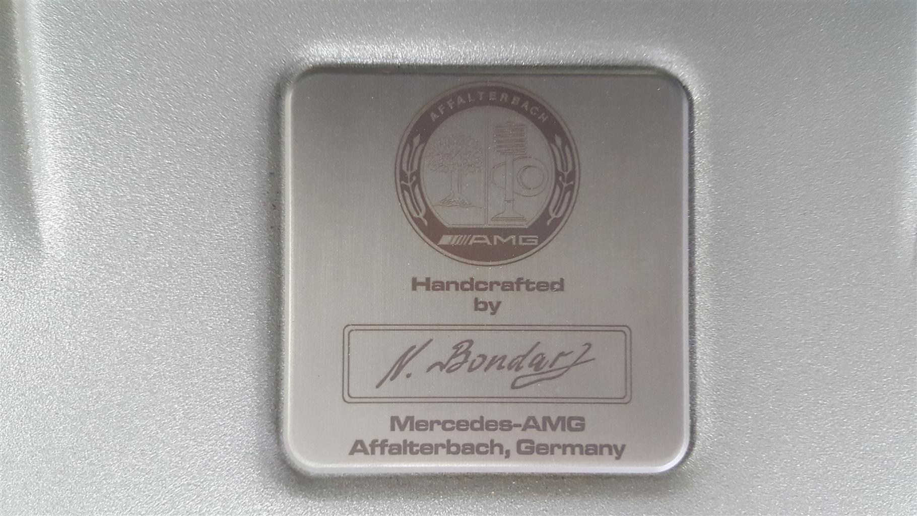 2009 Mercedes Benz SL 65 AMG Black Series