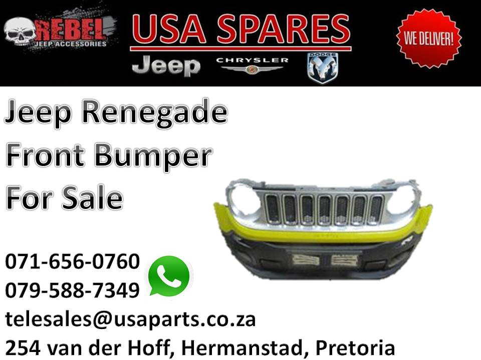 Jeep Renegade Front Bumper For Sale Junk Mail