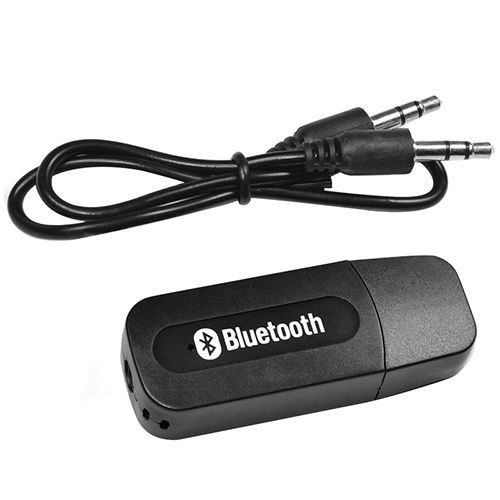 WIRELESS USB BLUETOOTH 3.5MM MUSIC AUDIO STEREO RECEIVER ADAPTER DONGLE