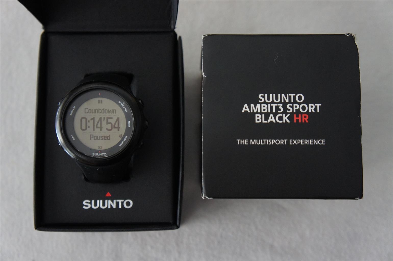 Suunto Ambit3 Sport Black HR