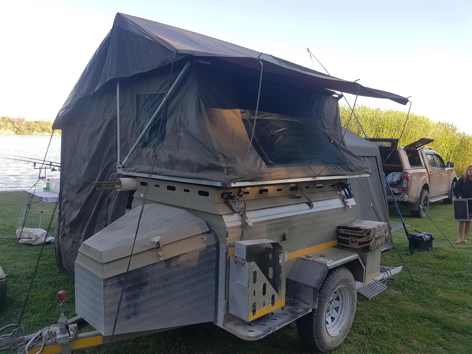Wilderness 310 6 foot Challenger trailer with tent