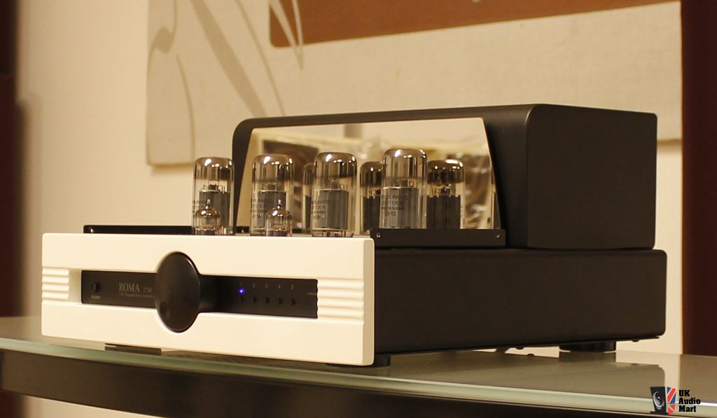 SYNTHESIS ROMA AC27 TUBE STEREO INTEGRATED AMPLIFIER