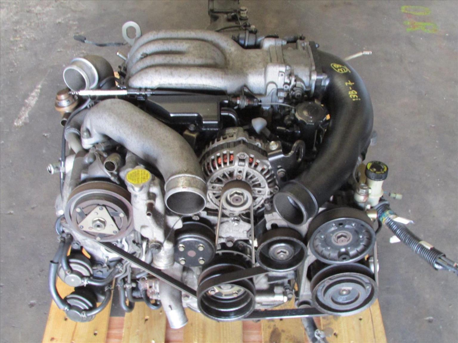 JDM Mazda RX7 FD3S Twin Turbo 13B Rotary Engine 5 Speed Manual Trans