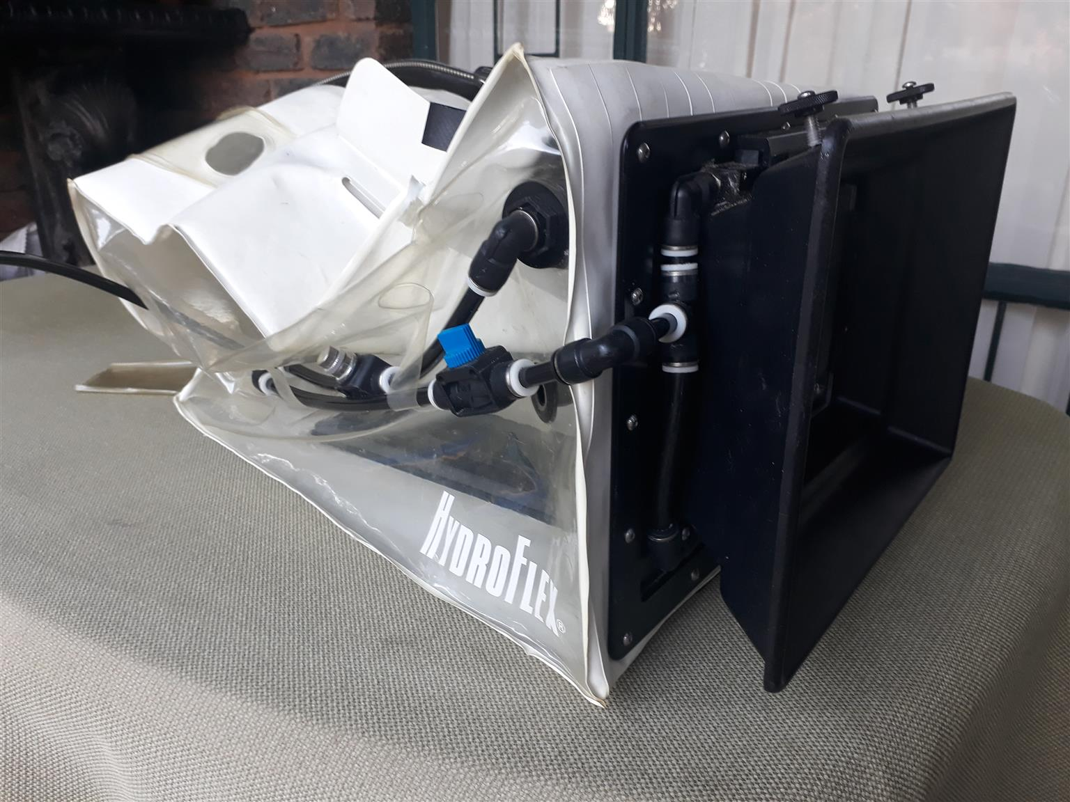 Repairs to submersible Hydroflex housing for professional cinematography camera