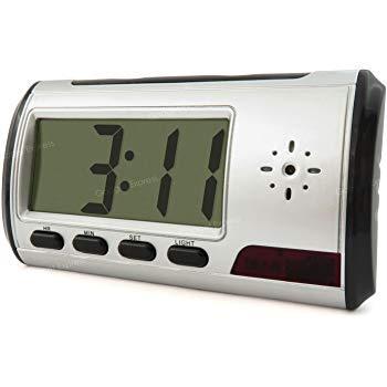 Motion Detection Spy Clock