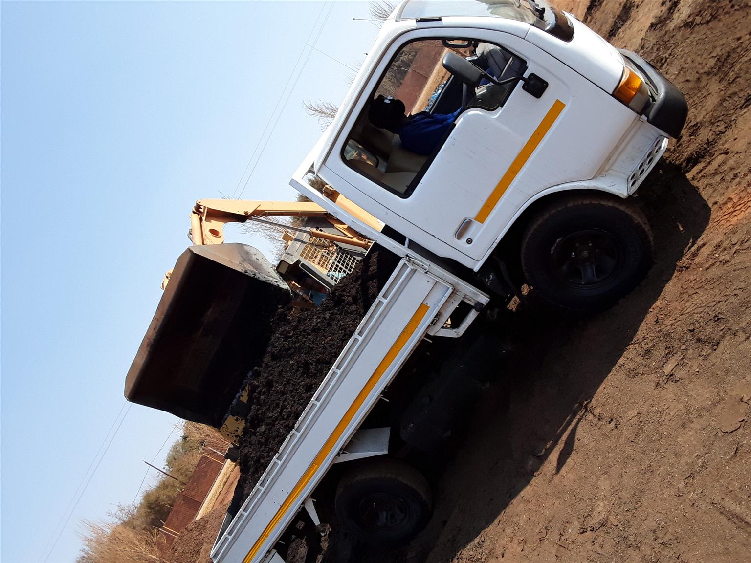 Two tonne truck for hire