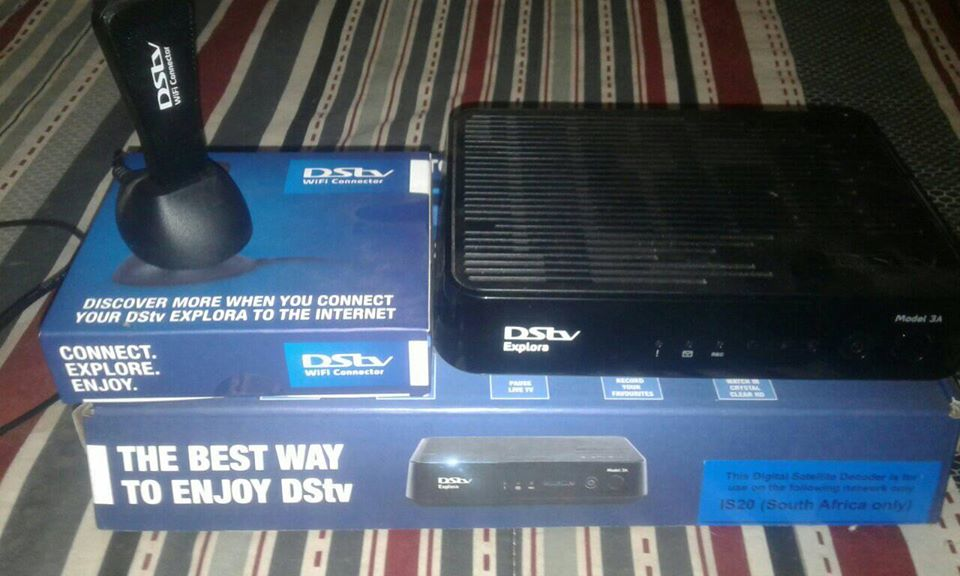 DSTV Explora with Wifi Connector