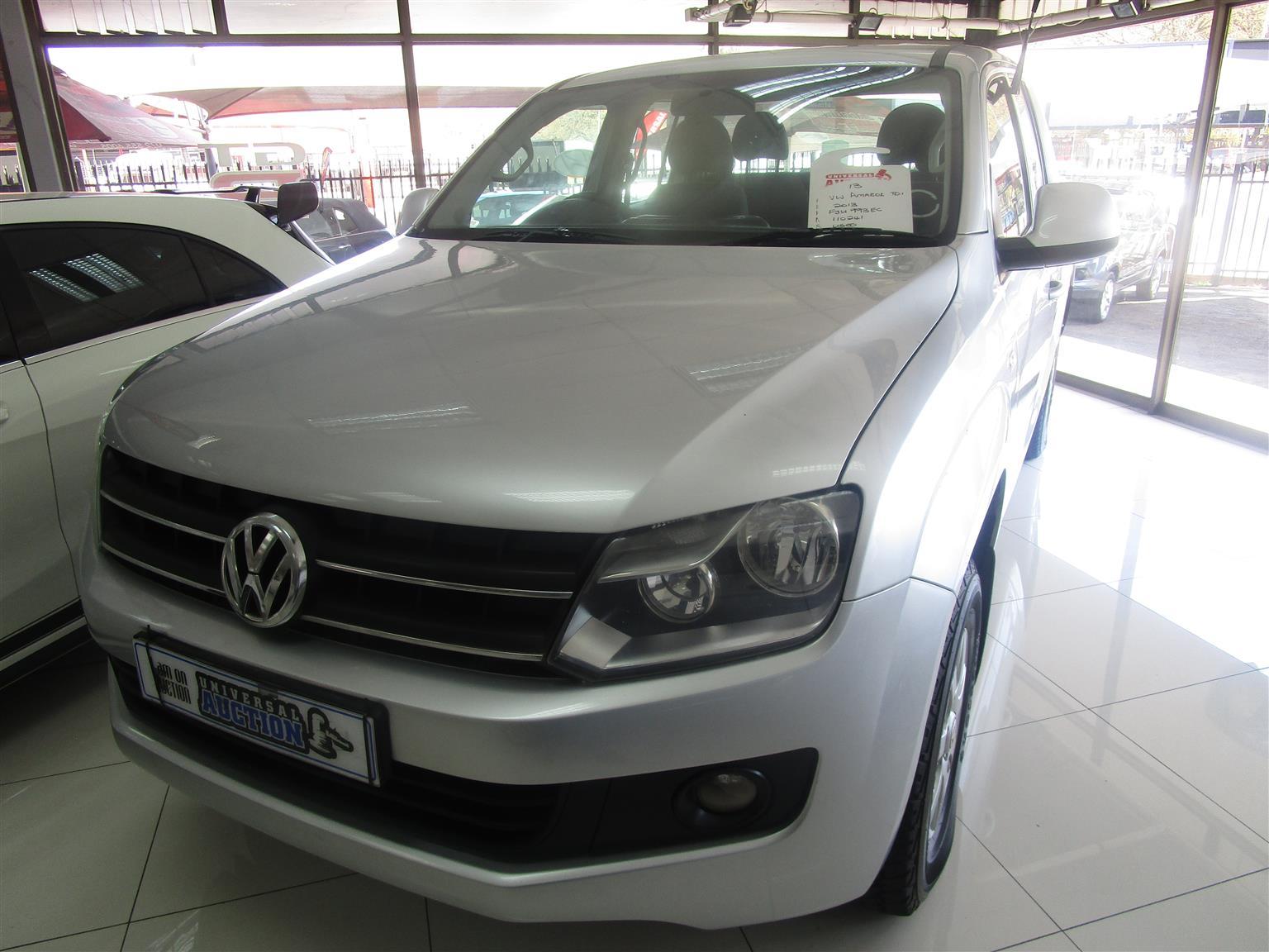 2013 VW Amarok 2.0TDI
