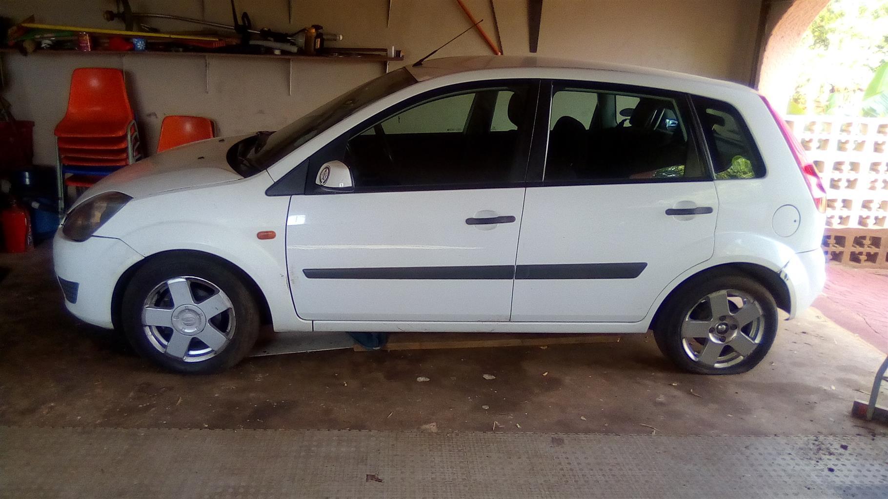 2007 Ford Fiesta 5 door 1.6TDCi Ambiente (aircon+audio)