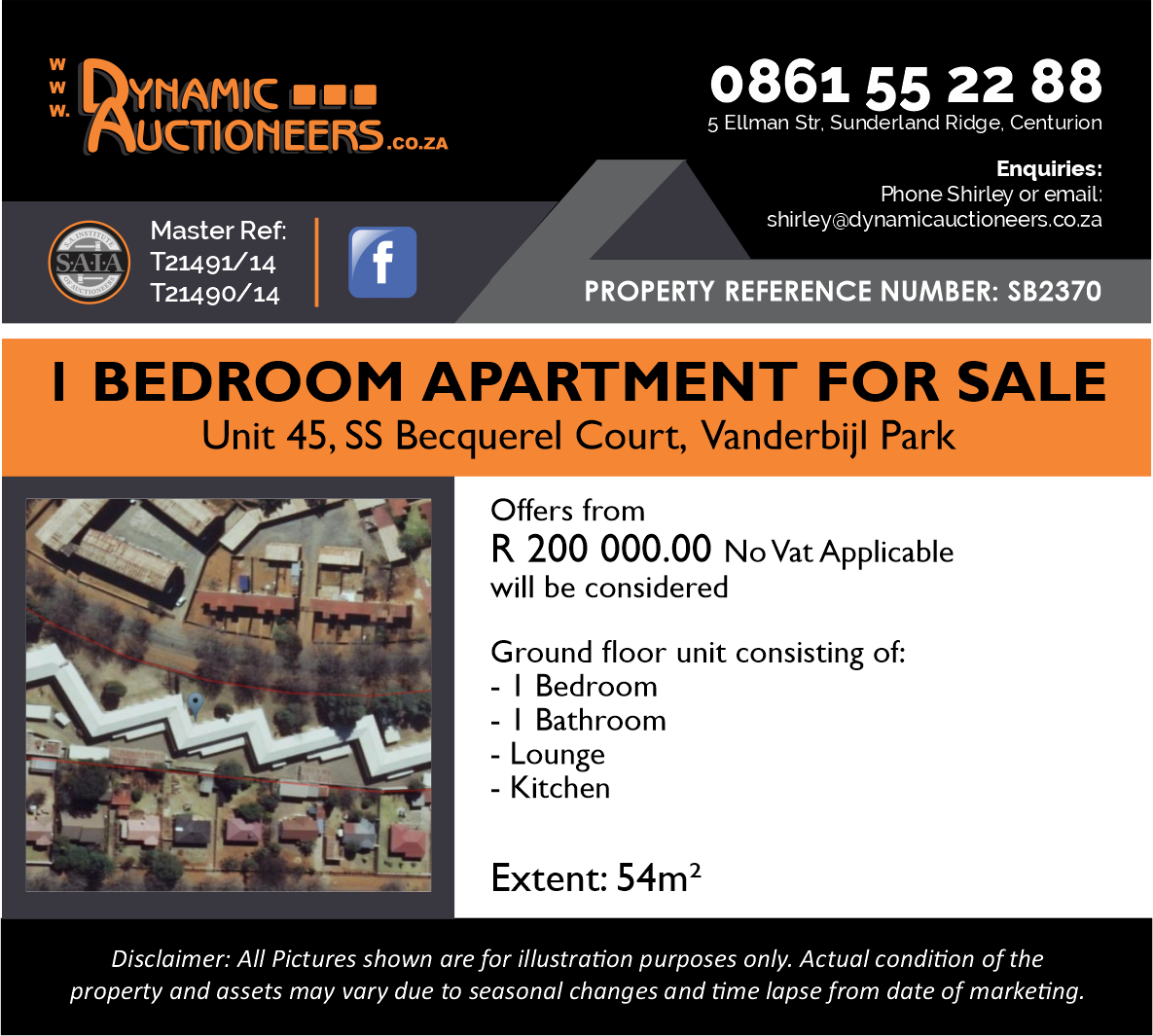Apartment For Sale in Vanderbijlpark Central West 2