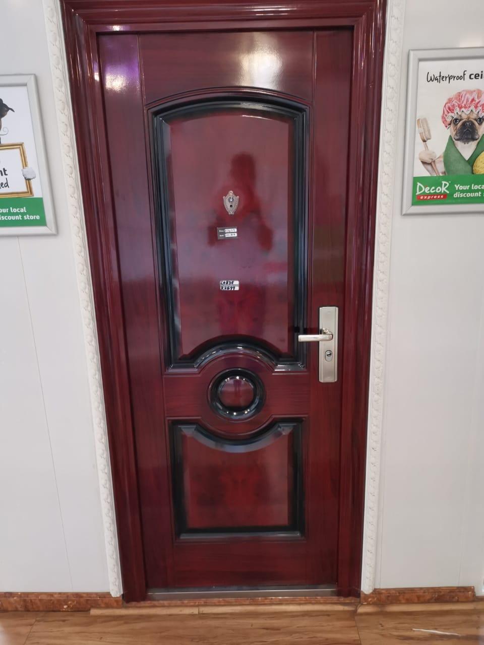 Modernised external door
