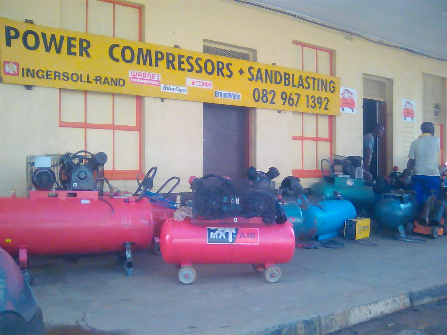 Compressor business for sale