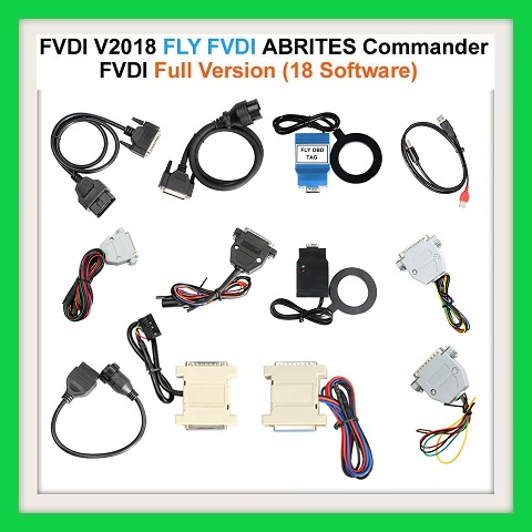 ECU / KEY PROGRAMMER Newest FVDI V2018 Original FLY FVDI ABRITES Commander Full Version