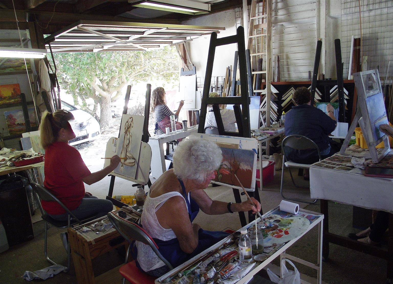Art classes for beginners