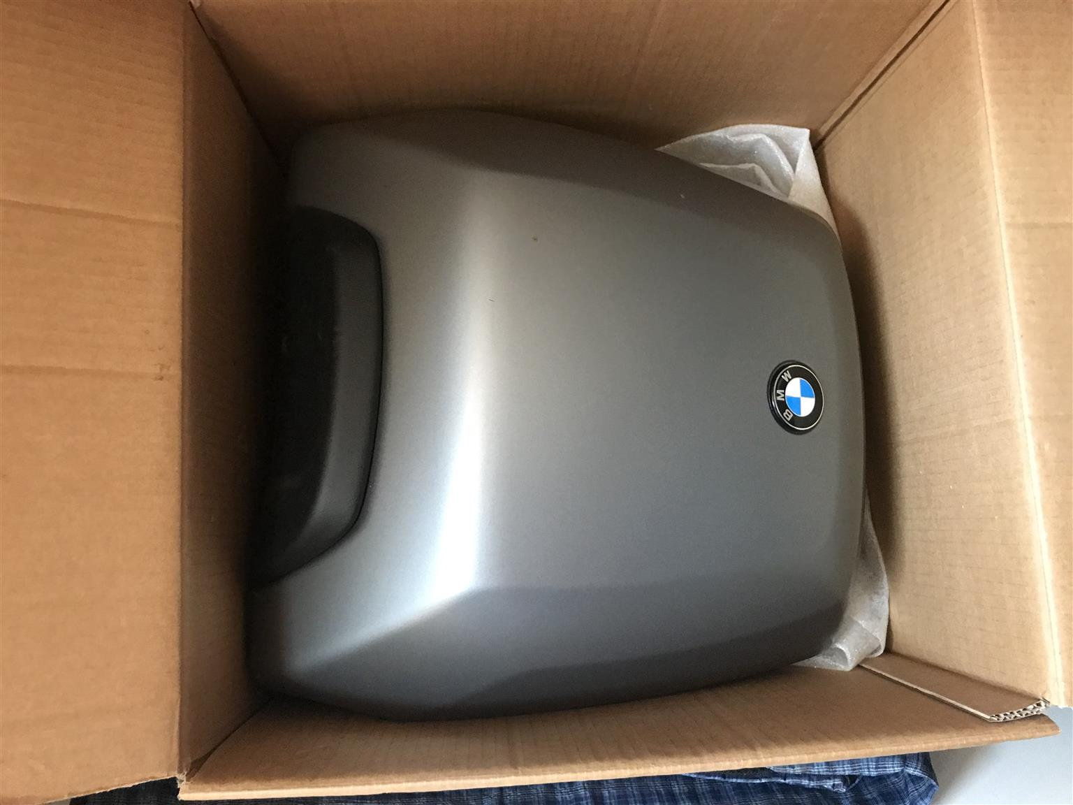 BMW RS1200 panniers and top box