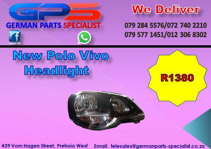 New VW Polo Vivo Headlight for Sale