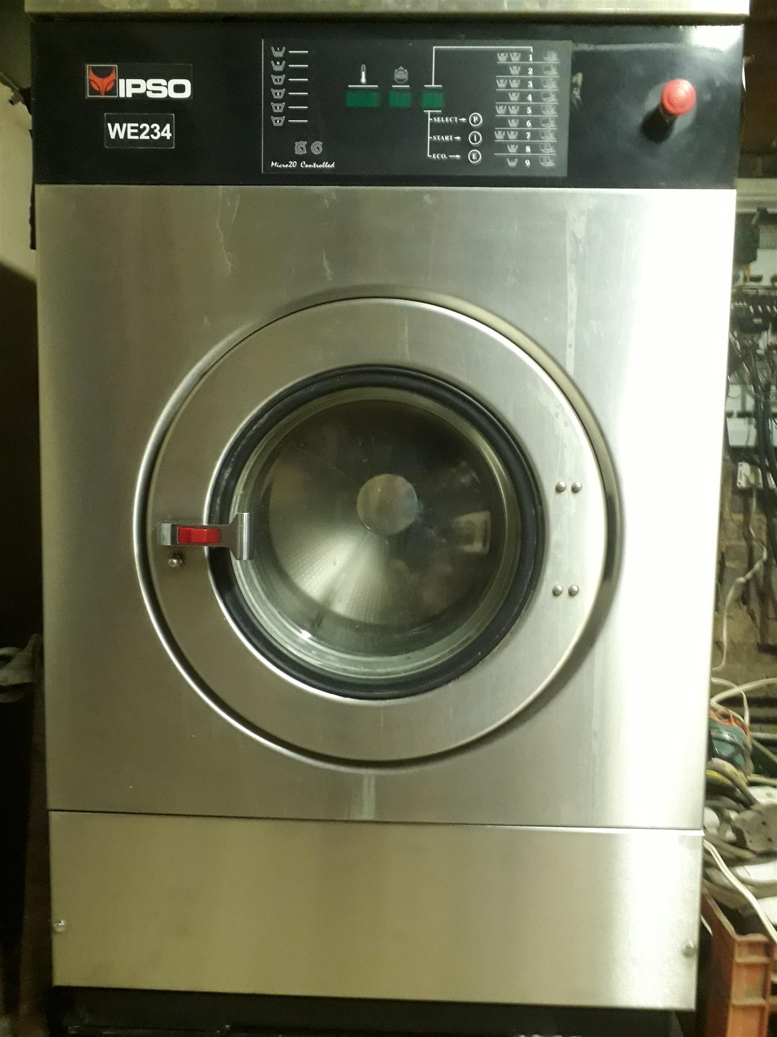 Industrial Laundry washing machine IPSO, 23Kg (3 Phase)