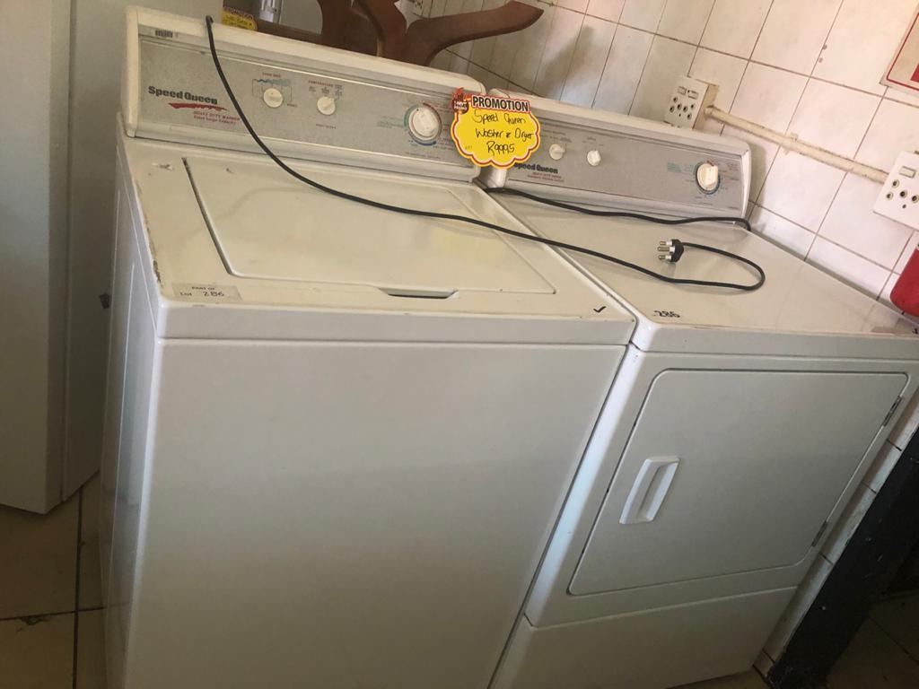 Speed Queen Combo's Washer & Dryer
