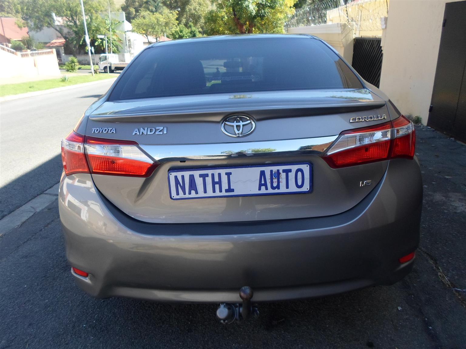 2016 Toyota Corolla 1.3 Impact