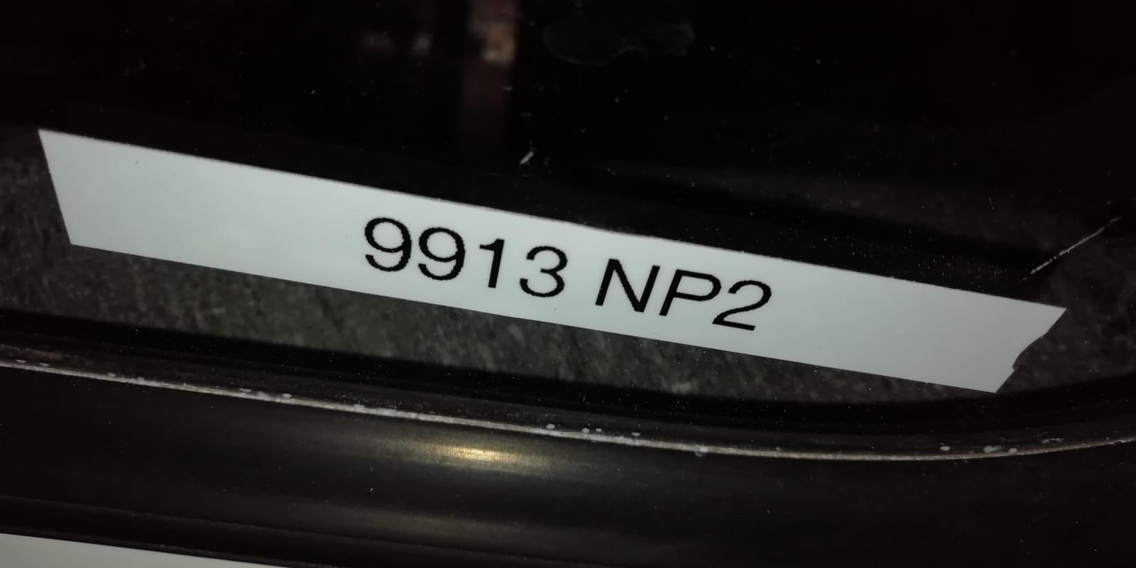 9913 NISSAN NP200 LOWLINE BEEKMAN CANOPY
