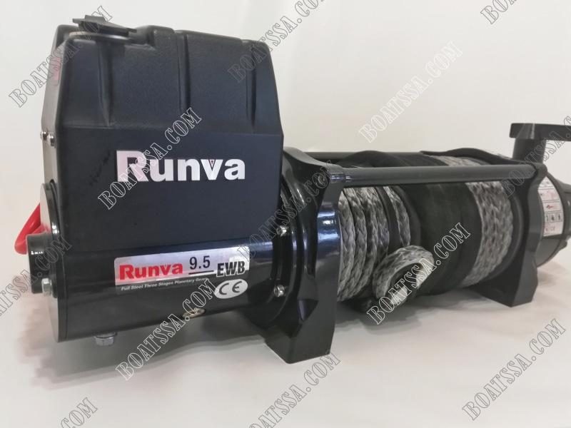 RUNVA B9500U-SR 12V ELECTRIC SYNTHETIC ROPE WINCH