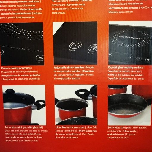 Induction cooking set - BRAND NEW