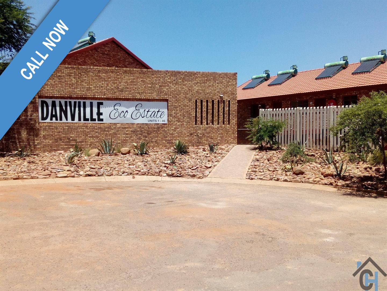 Wonderful, spacious 2 bedroom apartment units in a secure residential estate in Danville, Pretoria.