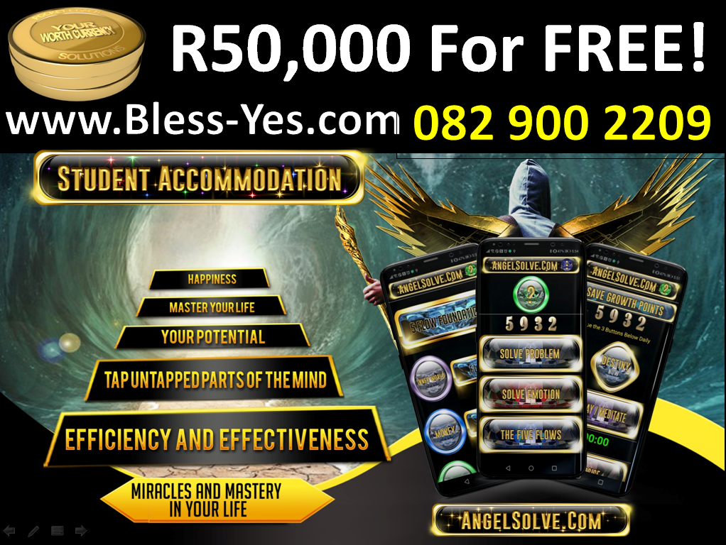 Accommodation in Durban. Turn the Rent You Pay each month into Millions with Success Training with Durban's Success Coach onsite