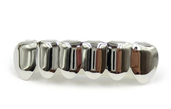 TEETH GRILLZ - Gold and Silver available