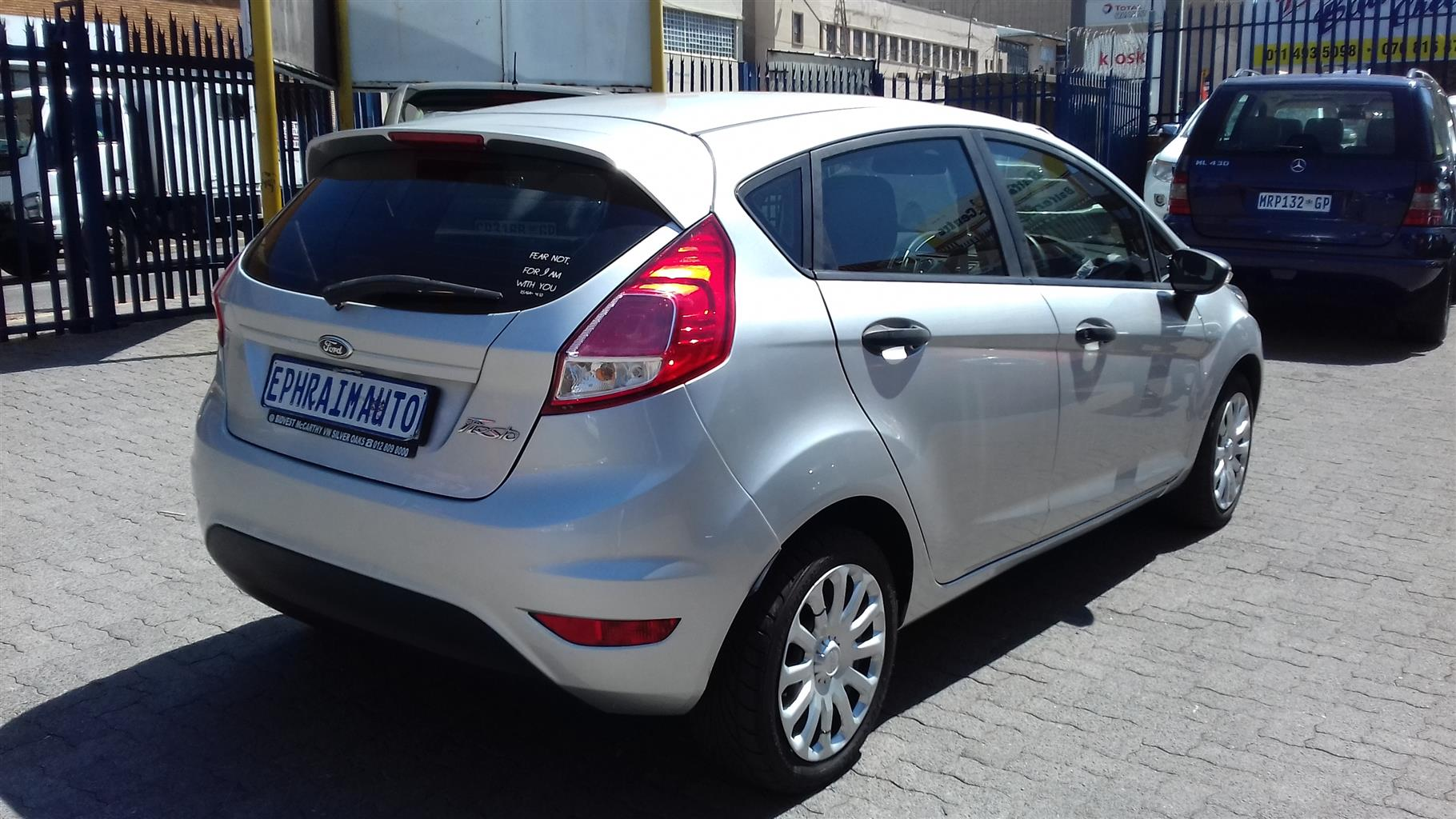 2015 Ford Fiesta 1.4 5 door Ambiente