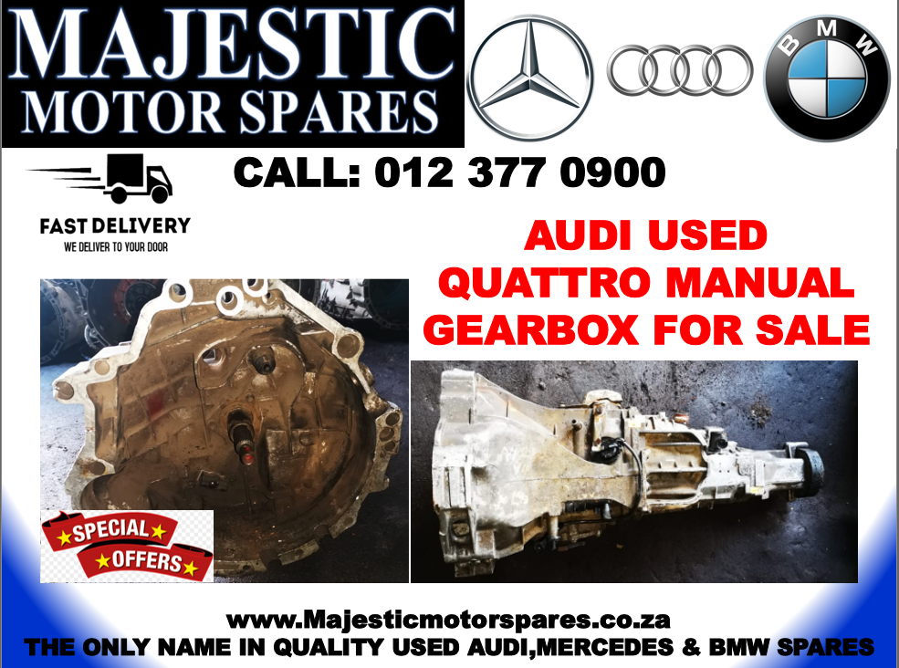 Audi quattro manual gearbox used for sale