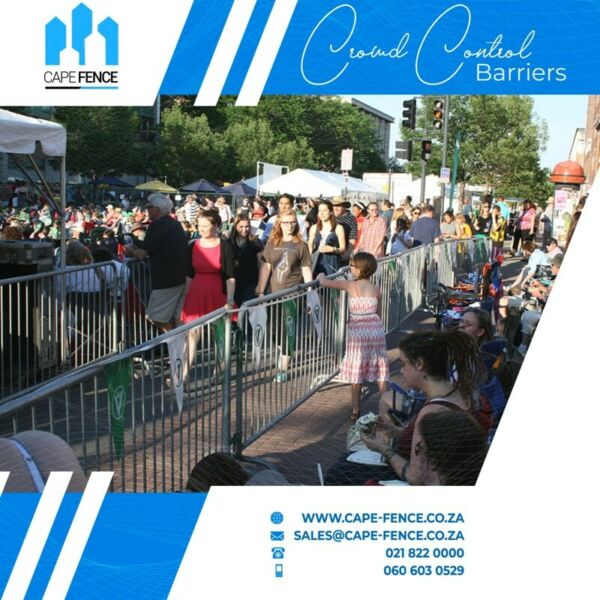 Event fence Hiring, Crowd barricades