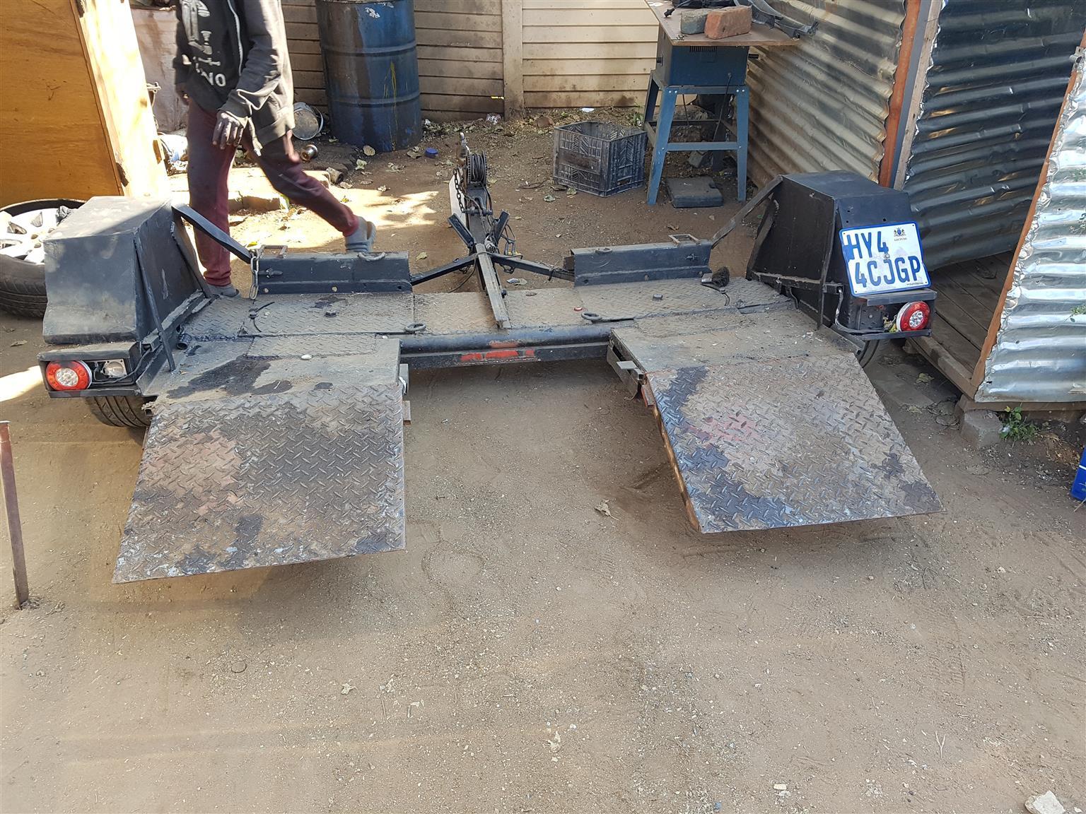 Piggyback trailer for sale