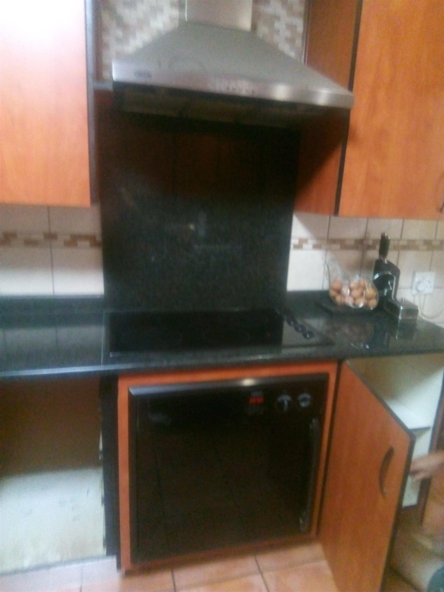 Oven and glass top defy
