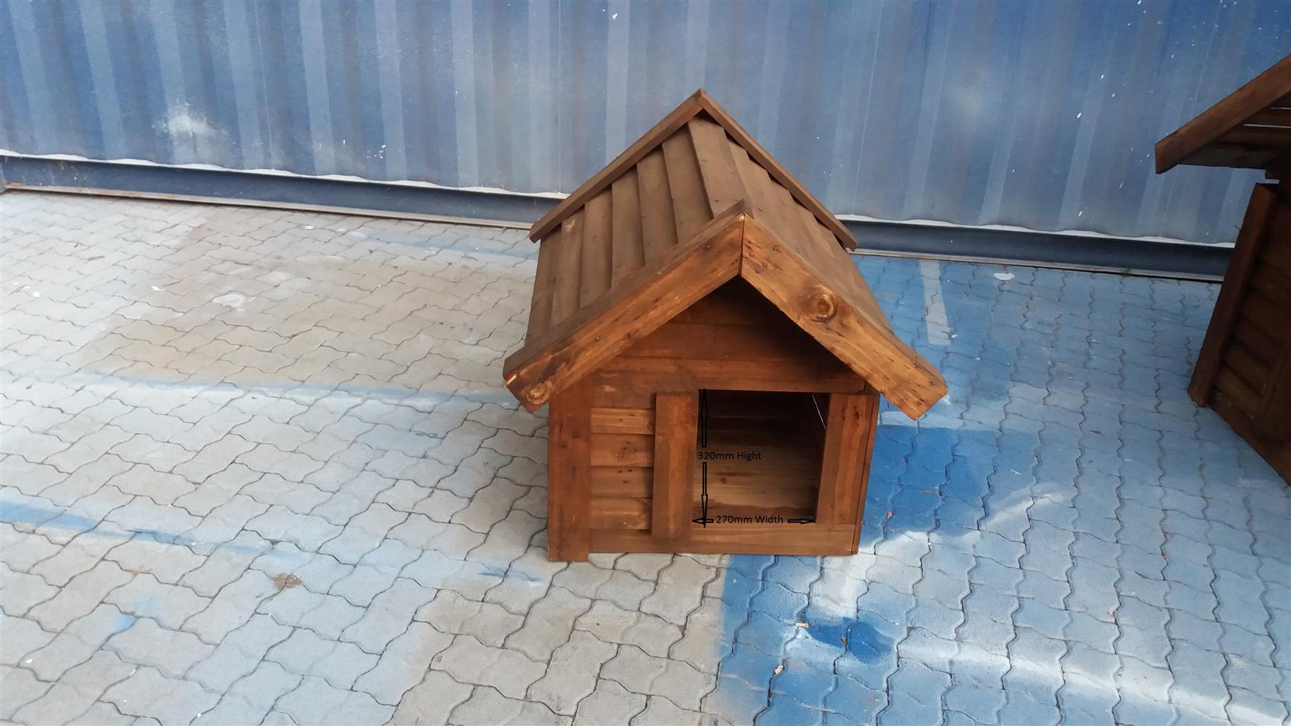 Dog House 700mm Width X 650mm Lenght X 850mm Height Junk Mail