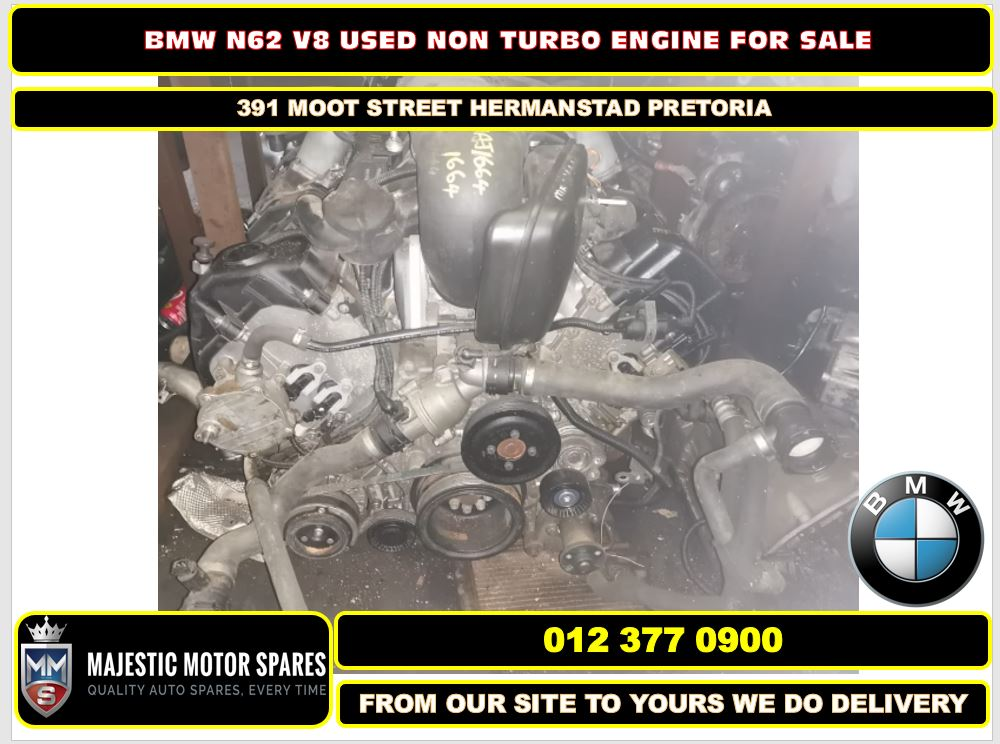 Bmw N62 V8 none turbo engine for sale used