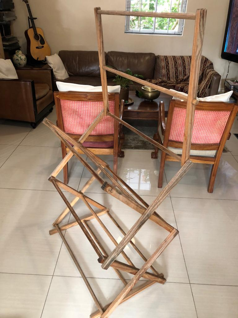 House of York Wooden clothes horse - indoor drying line