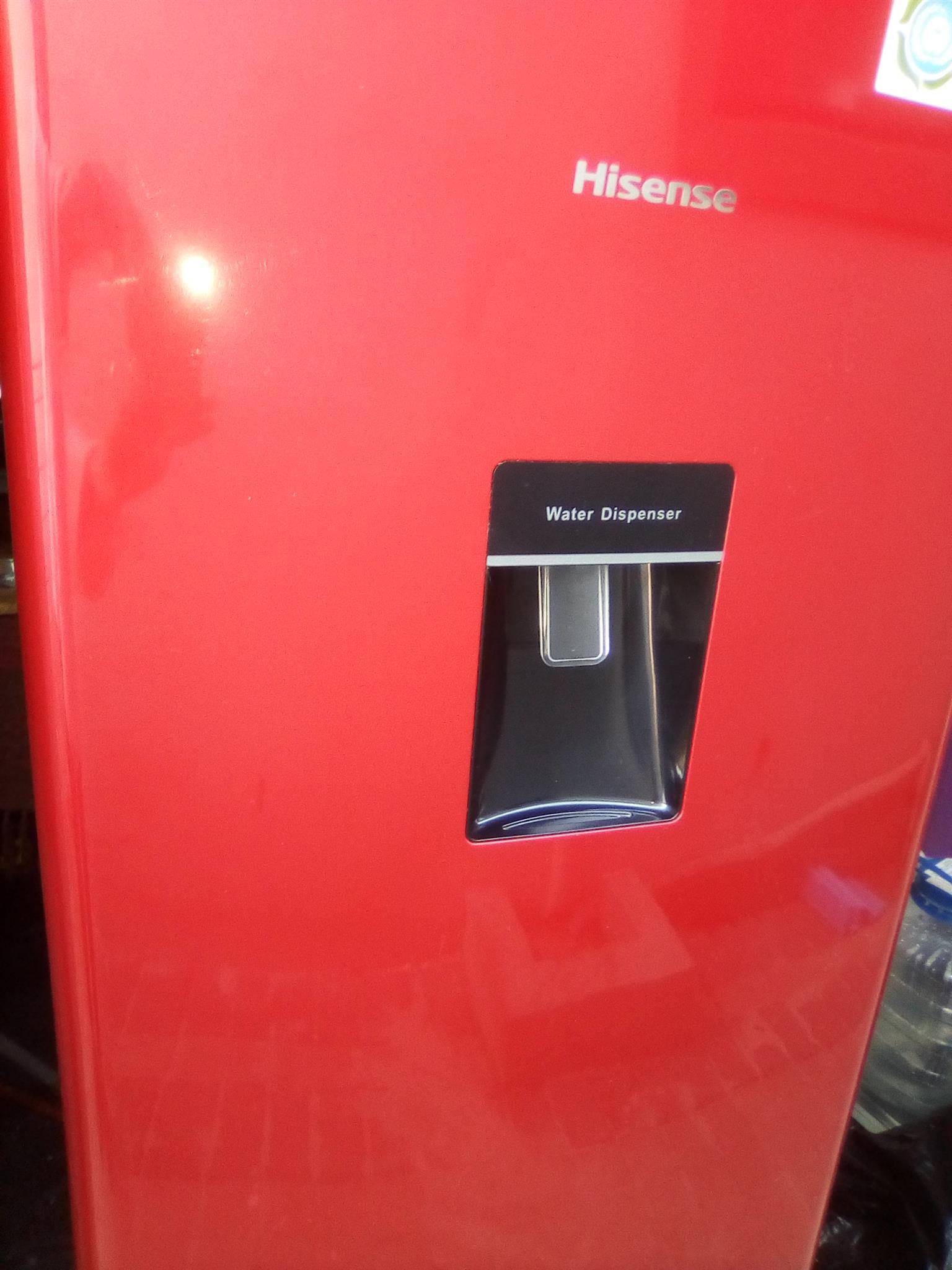Red Hisense 230 lt Fridge